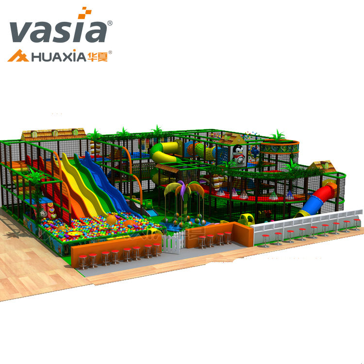 Wholesale imported LLDPE cheap indoor playground for kids