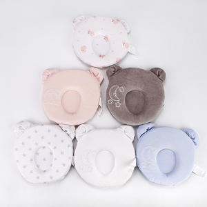 Super Soft Protective Sleeping Memory Foam Newborn High Quality Organic Cotton Safty Baby Head Pillow