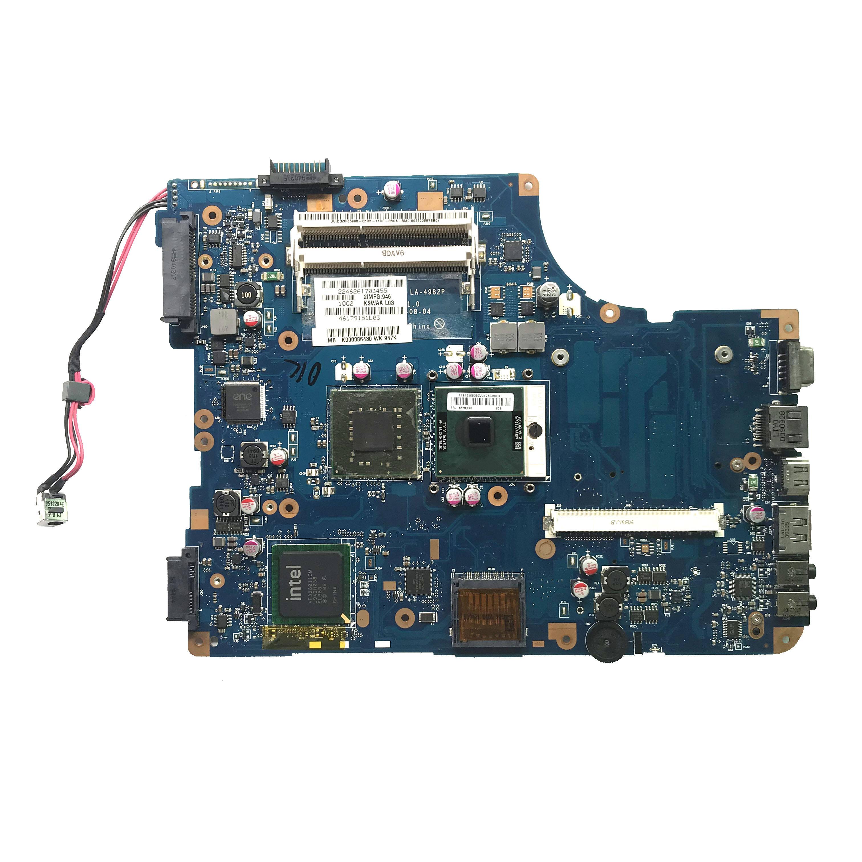 Toshiba L550 L555 laptop motherboard K000093080 LA-5321P 100/% tested ok