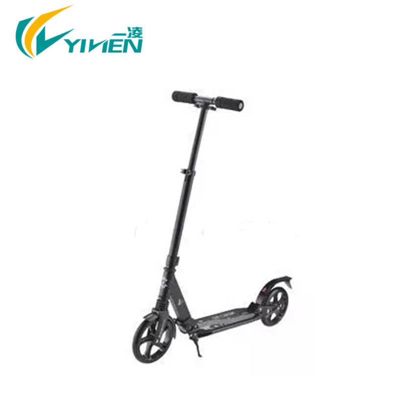 200mm big wheel adult kick scooters aluminum material with EN14619 approved