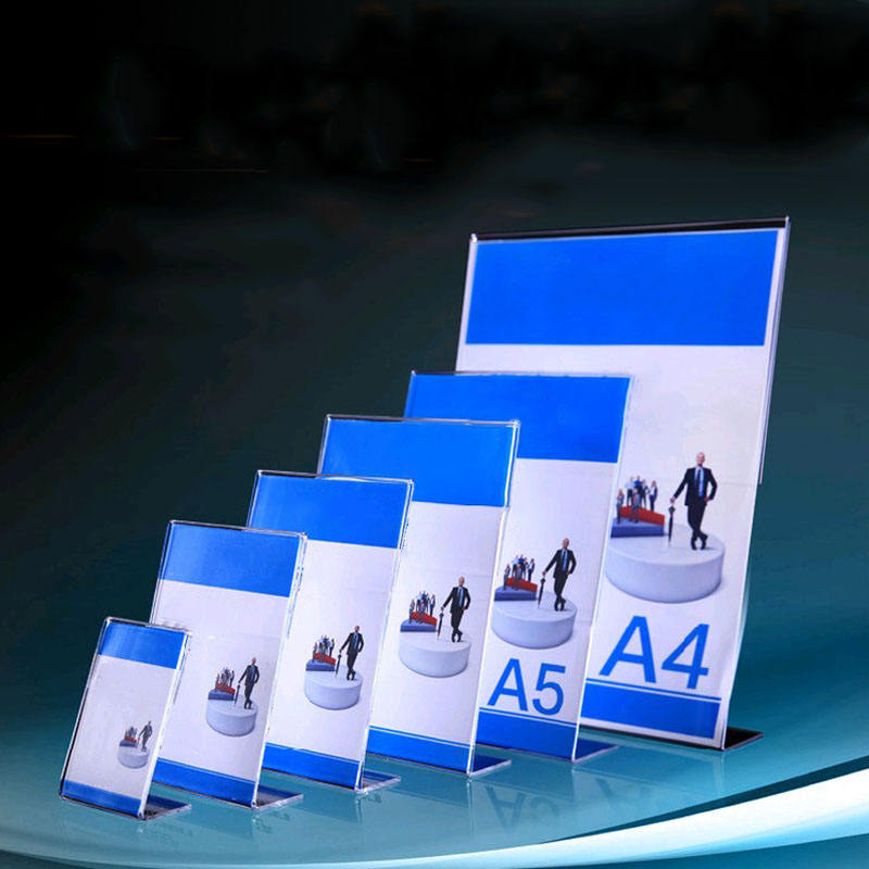 Acrylic Sign Display Holder Menu Holders Table Card Holders