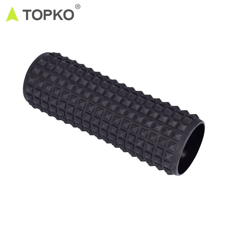 TOPKO écologique gym fitness Deep Tissue Massage Musculaire PVC rempli d'air de Rouleau de Mousse de massage