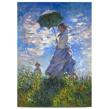 Hand Made Claude Monet Classical Reproductions Beautiful Scenery Paintings Art on Canvas