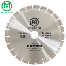 350mm diamond saw blade for cutting granite high cutting speed long working life general purpose