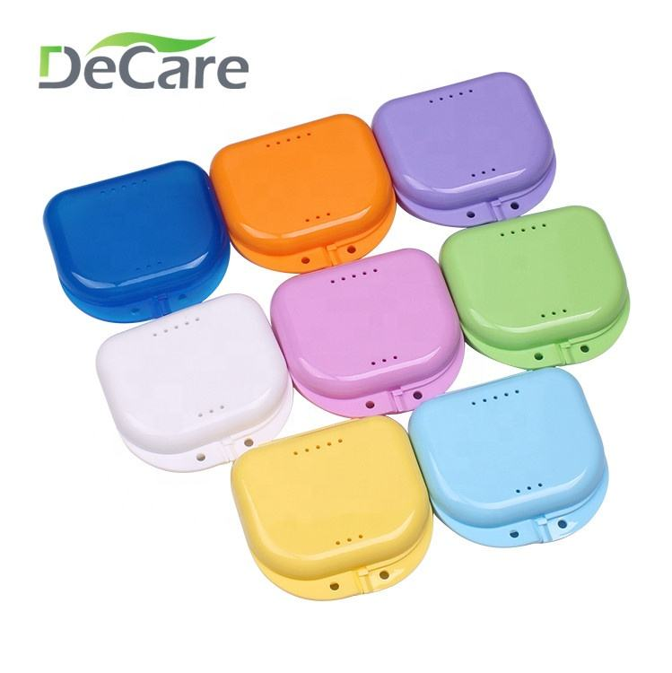 Custom retainer case with vents/Colourful plastic membrane box