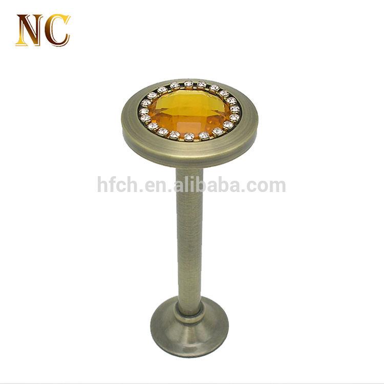 Top verkauf garantierte qualität dekorative vorhänge fenster kristall glas vorhang holdbacks