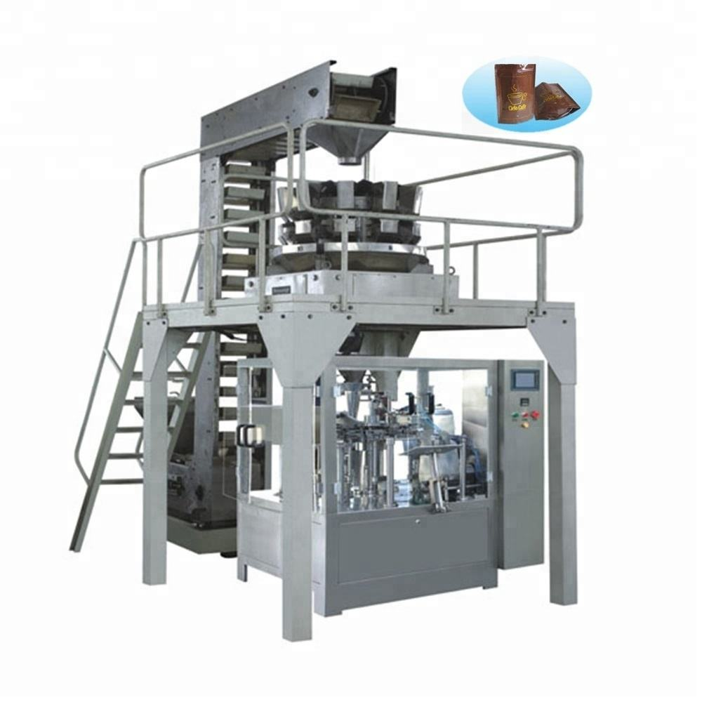 Factory directly sale stand up utility stable speed milk pouch packing machine