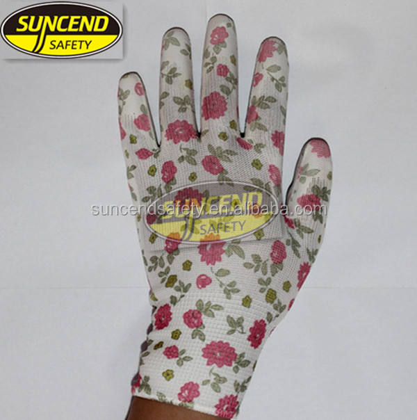 anti-static gloves good quality new fashion garden luvas guante gloves