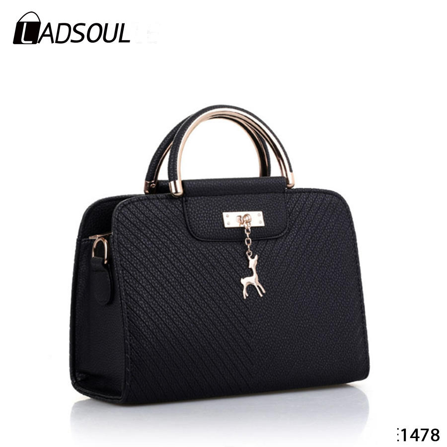 2019 Factory Wholesale Women Pu leather Fashion Style Shoulder Messenger Bags