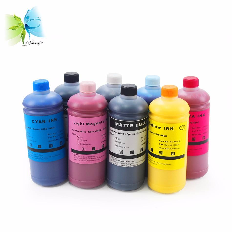 High Quality For Epson Ultrachrome Hdr Ink Bulk Refillable K3 Vivid Pigment Ink For Epson 4800 Pigment Ink