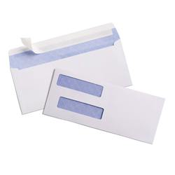 500 #8 SELF SEAL Security Tinted Double Window quickbooks checks Envelopes