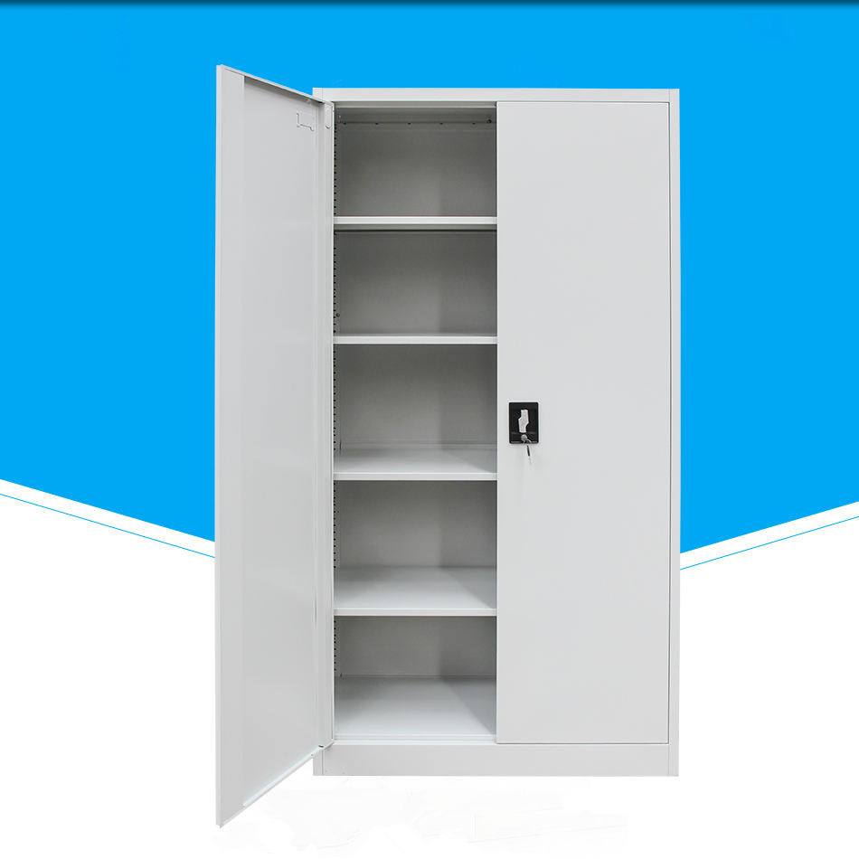 heavy duty 2 door industrial metal cabinets