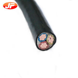 3 core 2,5mm optische faser ummantelte power composite-kabel