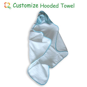 100% Cotton Baby Hooded Bath Towel