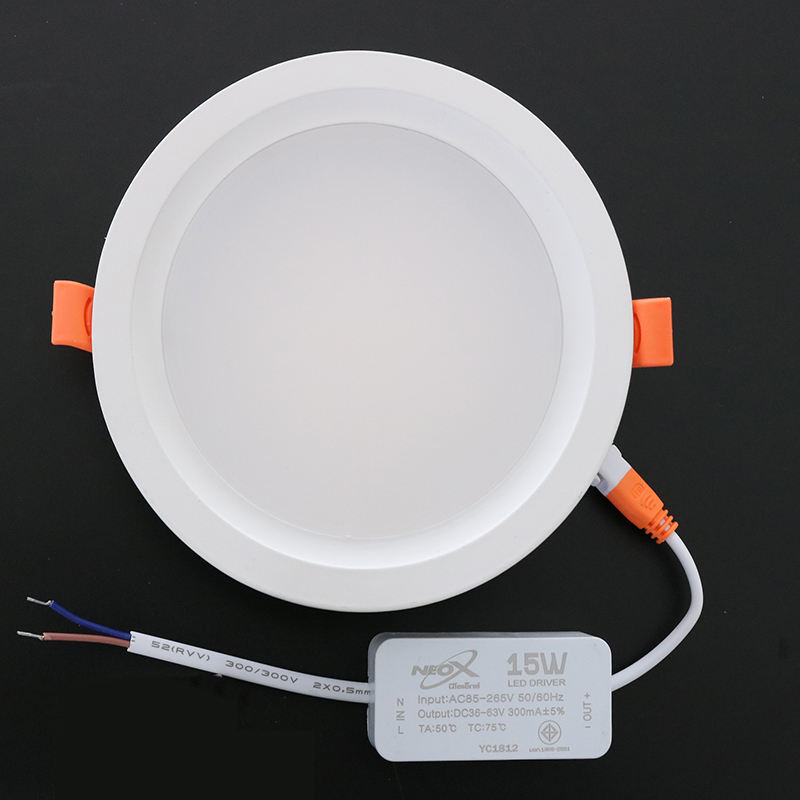 15W COB <span class=keywords><strong>Downlight</strong></span> צילינדר משטח הר LED למטה אור