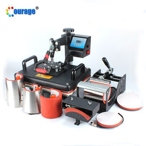 Hot sell small size flat printer 8 in 1 sublimation transfer press printing machine