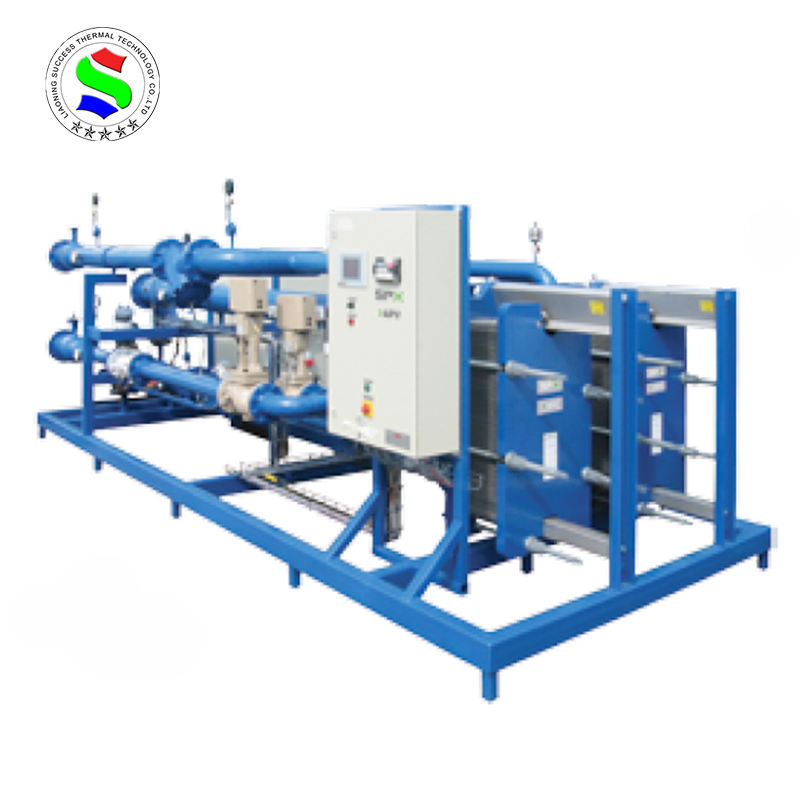 Air exchanger for heat recovery small cooling units