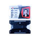 One-stop Service Card Id Holder Id Badge Card Holder Rigid Card Business Id Badge Holder With Rotate 360 Degrees Swivel Belt Clip