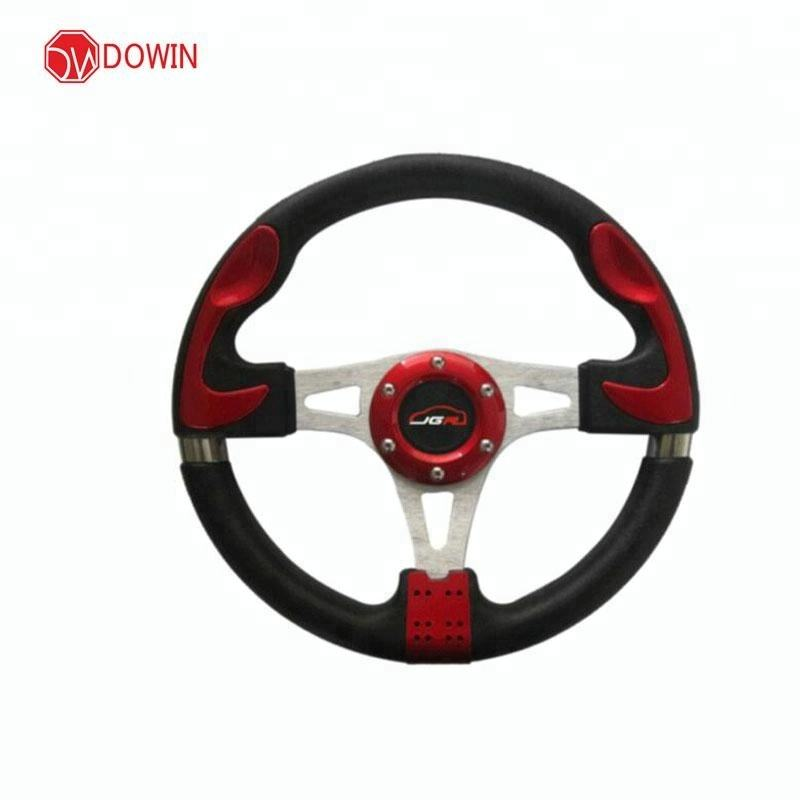 Hot sale high performance durable car pu steering wheel