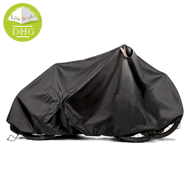 210T Customized Windproof Bicycle Cover For 2 Bike Cover