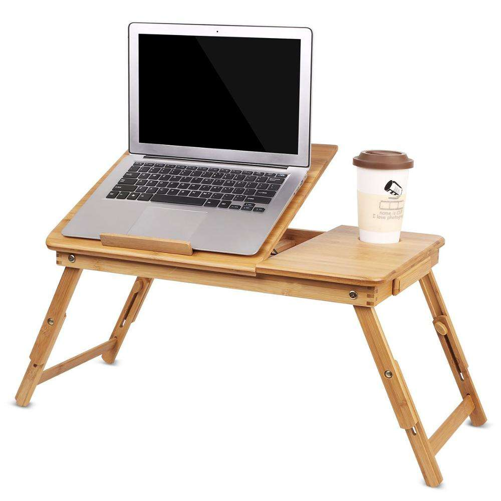 Folding Laptop Notebook Computer Table Bed Tray Radiating Stand /& Cooling Fan EK