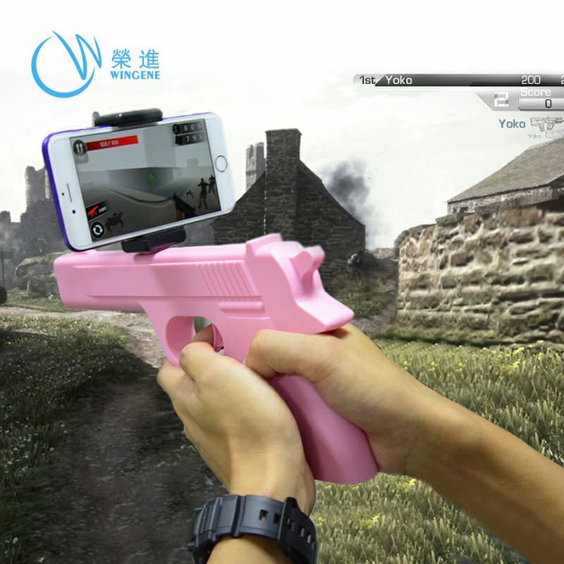 Điện thoại di động kiểm soát app thông minh game toy AR <span class=keywords><strong>súng</strong></span>
