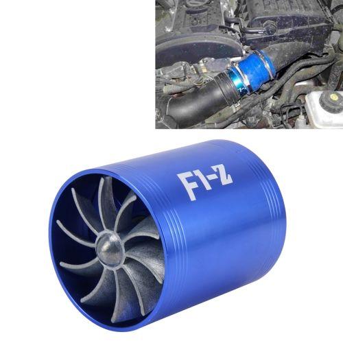 La ingesta dual del coche de Turbo aire del ventilador del sobrealimentador de combustible de ahorro de gas Turbina de aire de Turbo ahorrador del