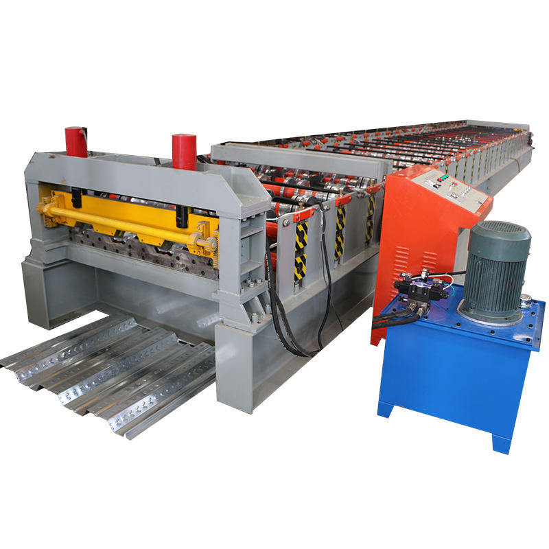 NEW Product Metal Decking Roll Forming Machine Galvanized Steel Deck Floor Tile Making Machine