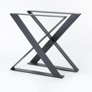 Customized Antique Metal X Shape Table Legs