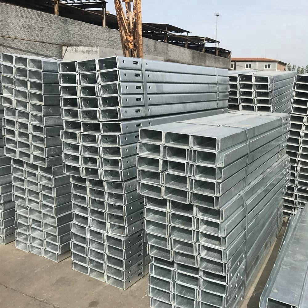 steel guardrail posts