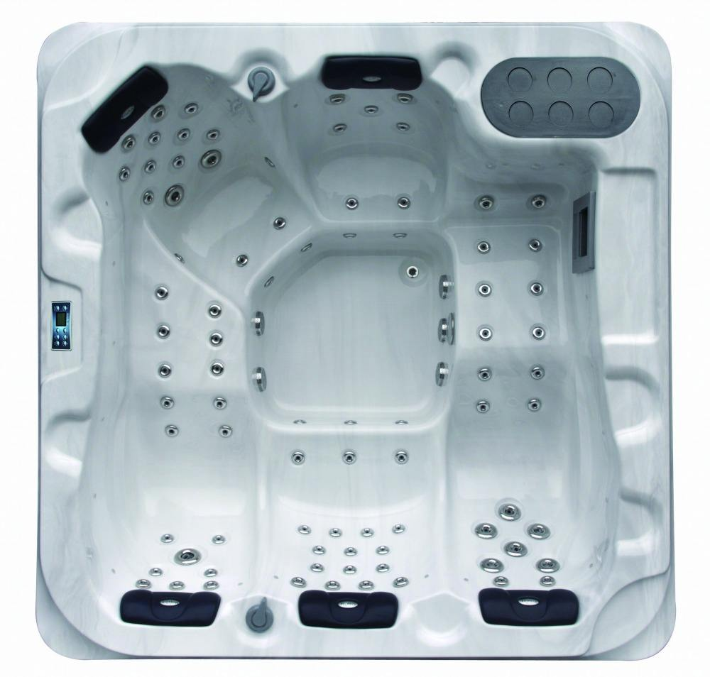 Whole sale price 85 jets whirlpool hot tub outdoor spa tub