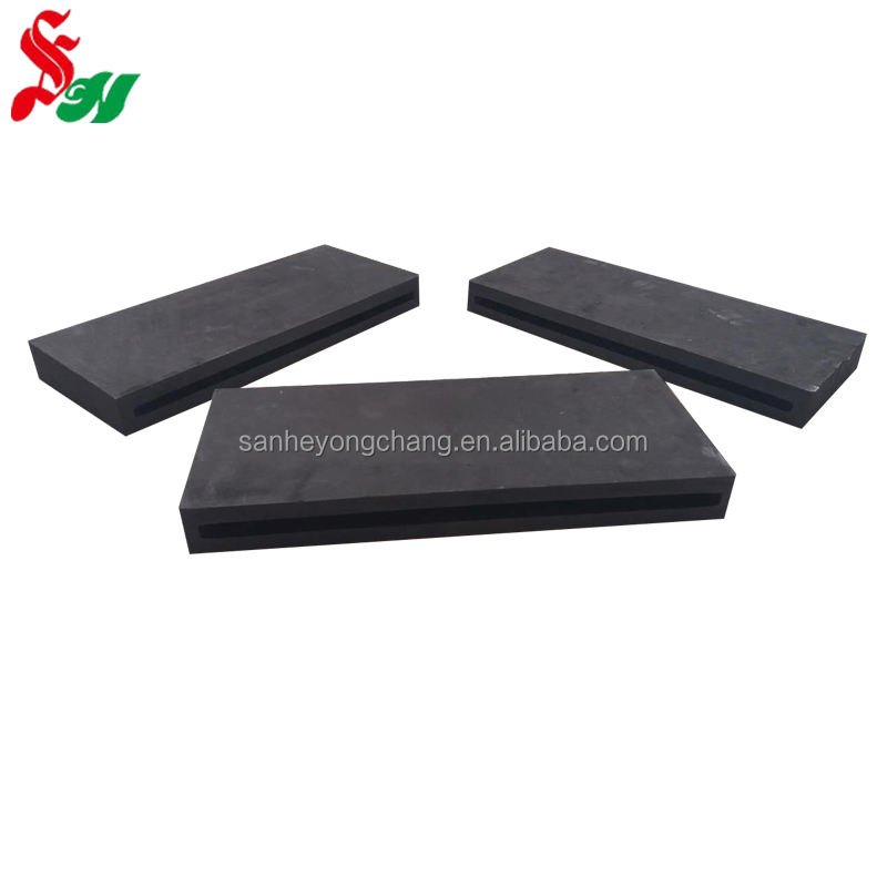 Production and processing isostatic pressing graphite flat line Copper casting high purity graphite mould customization