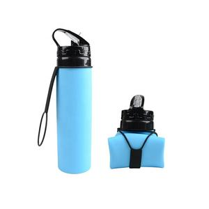 500ML Hot Selling Silicone Foldable/Collapsible Water Bottle