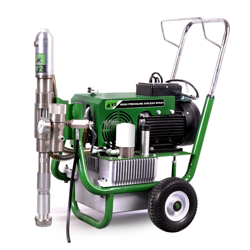 Y2 Electric Hydraulic Airless Paint Sprayers,High Pressure Heavy Duty Airless Putty Sprayer