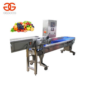 Jacquier Fruits Machine de Niveleuse de Fruits Poids Machine de Classement