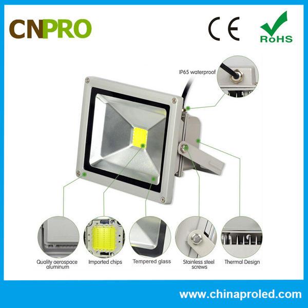 Завод прямые продажи хорошее качество высокое люменов проекта версии 20 Вт светодиодный прожектор AC85-265V 2 года гарантии