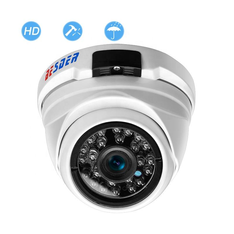 BESDER Full HD 2MP CCTV IP Camera Onvif Waterproof Vandal-proof 1080P Indoor Outdoor Email Alarm Video Surveillance Camera