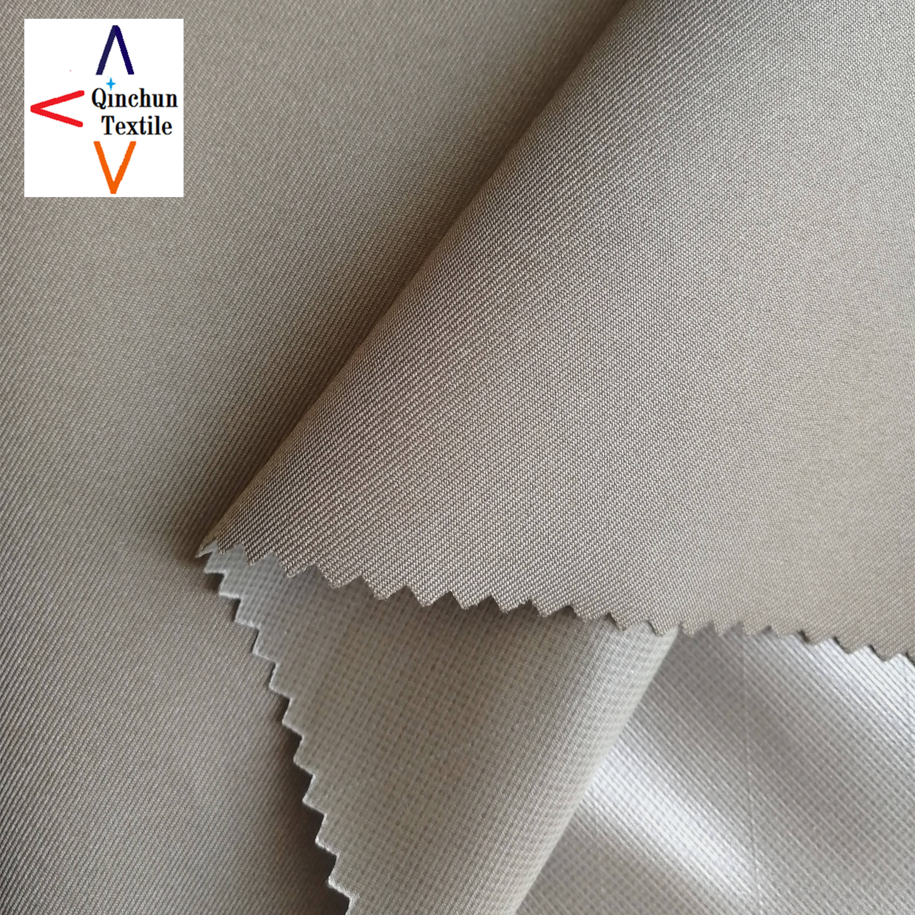 Electric conductive polyester twill gabardine fabric for doctor's coat