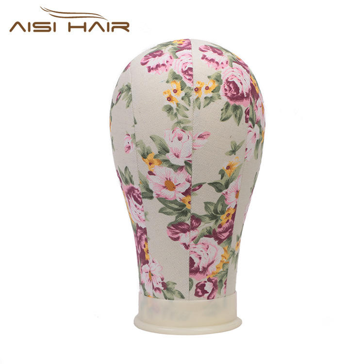 Aisi Hair Poly Canvas Block Training Head Mannequin Manikin Head Wig Stand wig head stand wig accessories