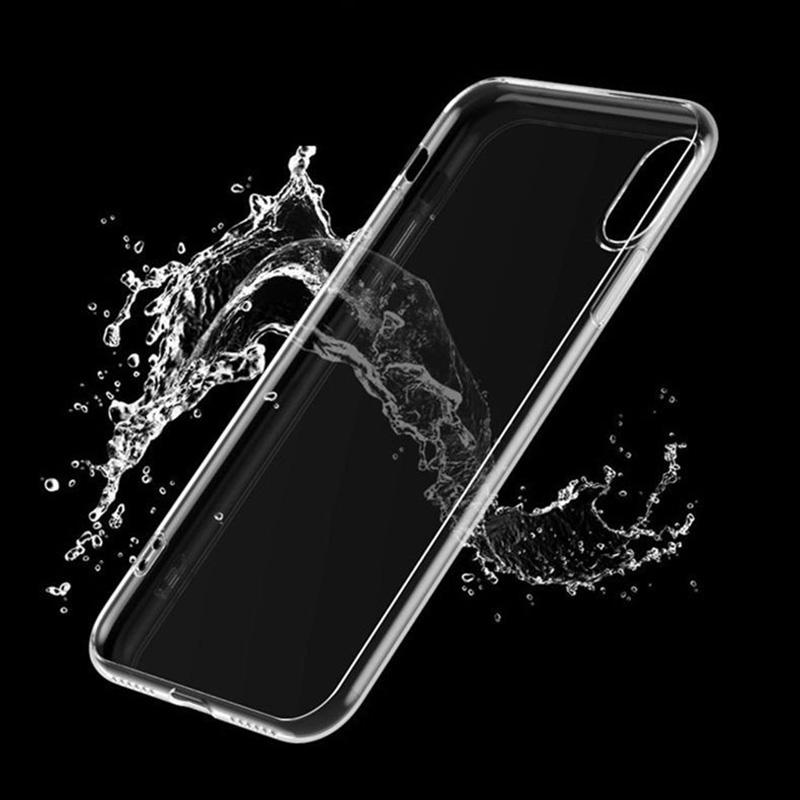 Clear Silicon Zachte Tpu Telefoon Case Voor Iphone 7 8 6 6 S Plus 7Plus 8Plus X Xs max Xr Transparante Case Voor Samsung Voor Huawei