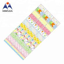 Best Price Fancy Name Stickers Waterproof 30*13mm 20m Names Stickers Roll in Stock