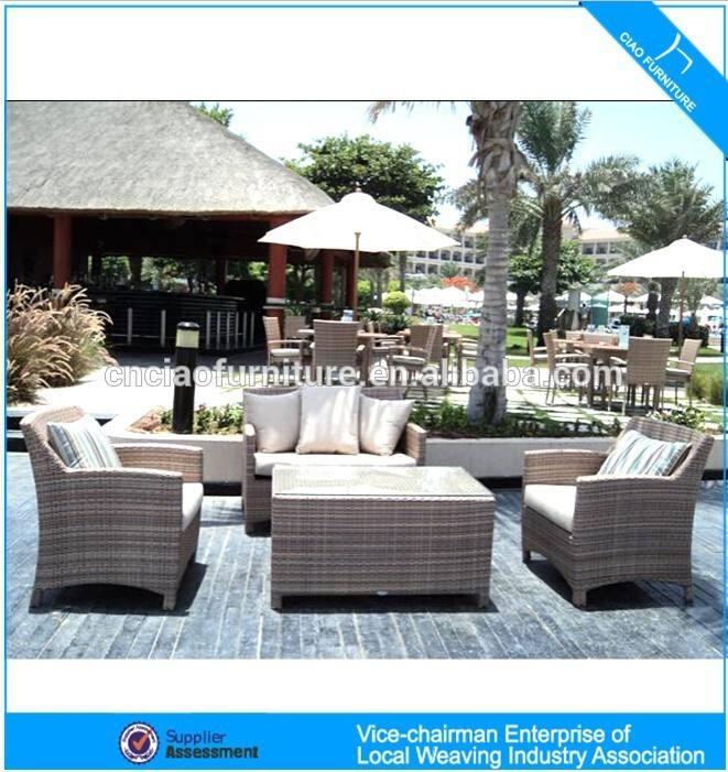 <span class=keywords><strong>GS</strong></span>-9028 rattan sofa set outdoor muebles de mimbre del pe