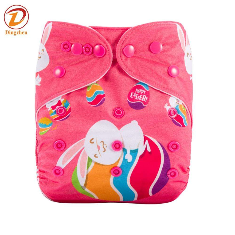 Mom Baby Wholsable Pul Waterproof Suede Cloth Diaper Cover Bamboo Strong Absorption Pocket Position Cloth Diapers