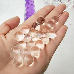 Amazon hot selling Hydrogel gel beads water beads pearl shape crystal soil for plant