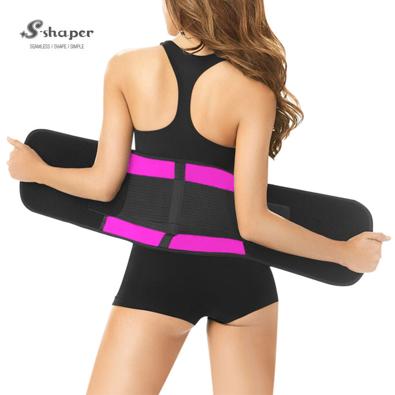 Private Label S-SHAPER Trainer Cintura Látex Cintura Trimmer Belt