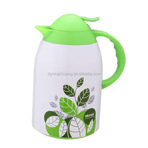 factory of New style hot water pot thermos glass refill vacuum flask