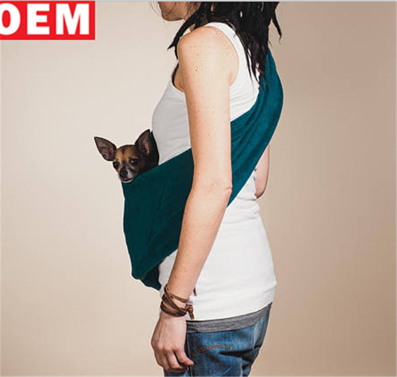 Sold out Good quality Fleece Dog Sling mom Pet Pouch cats Dog Carriers
