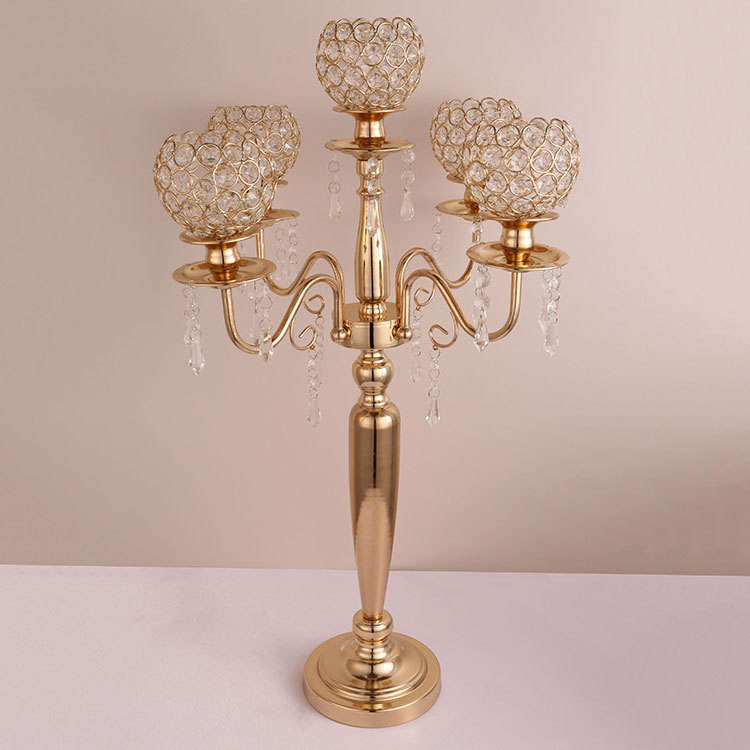Wedding tall umbrella candelabra centerpiece pillar candle holders