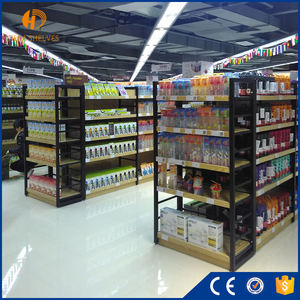 Customized one-stop supermarket equipment racks design layout modern