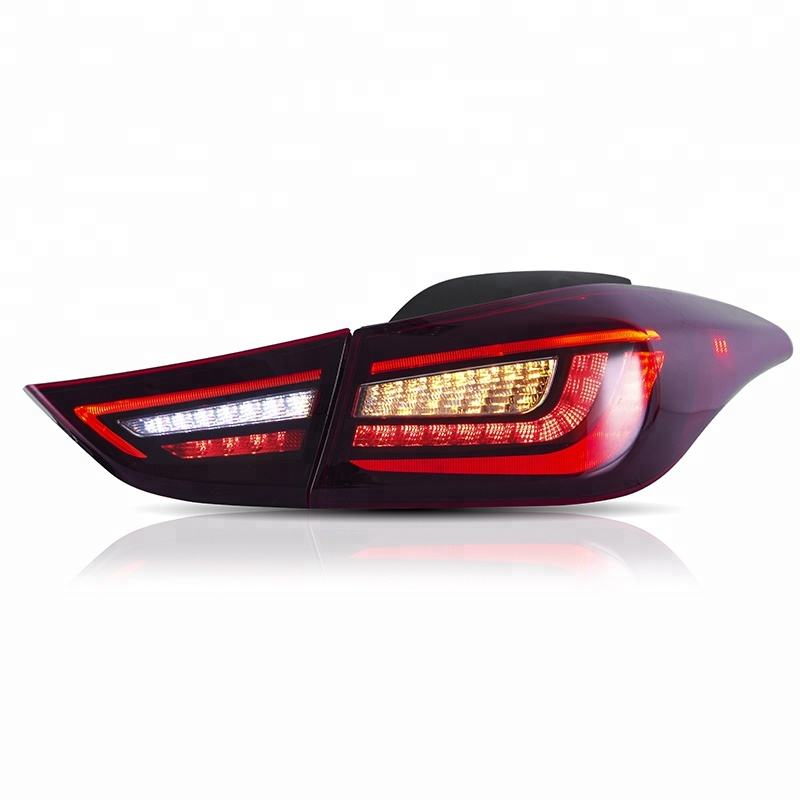 VLAND wholesales Fifth generation Avante xd Facelift tail lamp Sequential 2012-UP led tail light FOR HYUNDAI Elantra